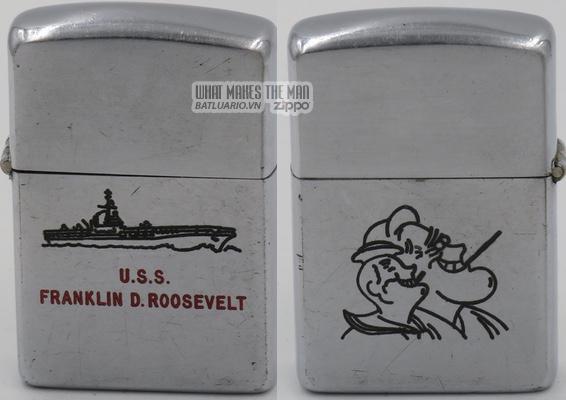Zippo 1949-50 USS Franklin D Roosevelt 2