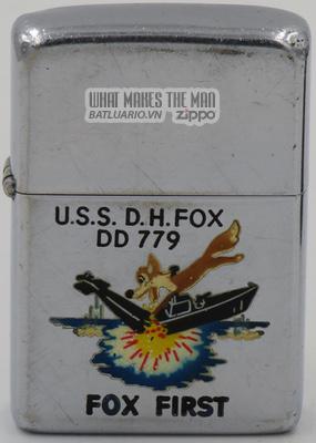 Zippo 1955 T&C USS D.H