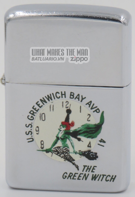 Zippo 1958 Town & Country USS Greenwich