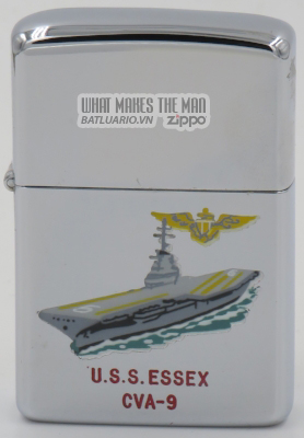 Zippo 1959 town & country USS Essex