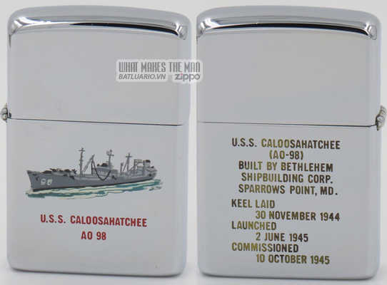 Zippo 1964 T&C USS Caloosanatchee