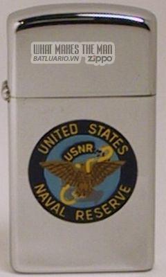 Zippo 1964 slim US Naval Reserve