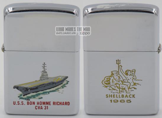 Zippo 1965 T&C USS Bon Homme Richard