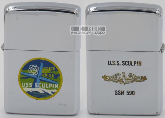 Zippo 1965 T&C USS Sculpin