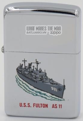 Zippo 1966 T&C USS Fulton