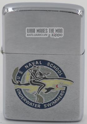 Zippo 1967 US Naval School Underwater