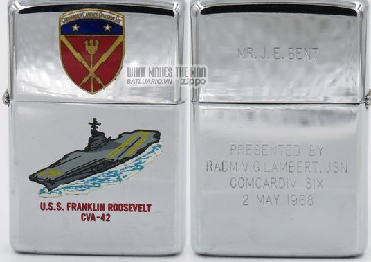 Zippo 1967 USS Franklin Roosevelt