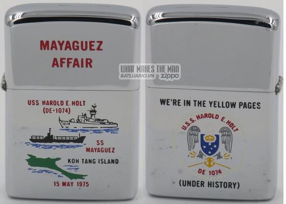 Zippo 1975 Mayaguez Affair