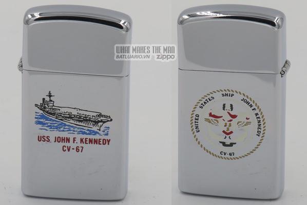 Zippo 1978 slim USS John F Kennedy