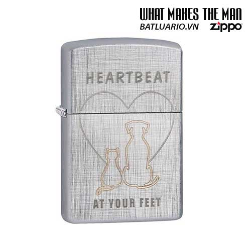 Zippo 29258 – Zippo Heartbeat at Your Feet