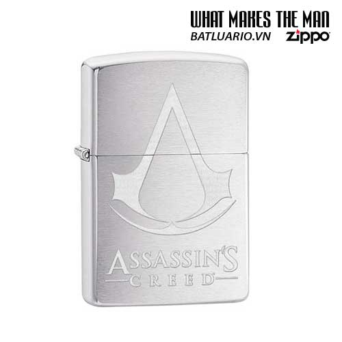 Zippo 29494 – Zippo Assassin's Creed® Brushed Chrome
