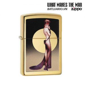 Zippo 29583 – Zippo Olivia Moon High Polish Brass