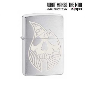 Zippo 29697 – Zippo Price Fighter Flame Design Brushed Chrome