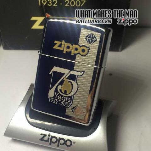 ZIPPO 75TH COMMEMORATIVE