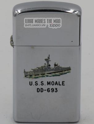 Zippo Slim 1963 T&C USS Moale