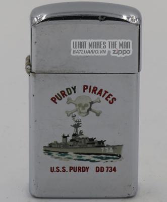 Zippo Slim 1966 T&C USS Purdy