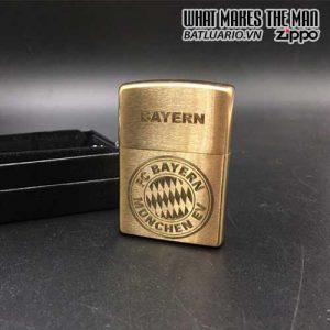 Zippo khắc Logo FC Bayern Munich 02 – Zippo 204B.BM02