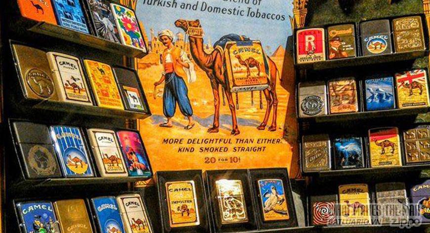 SERIES ZIPPO CAMEL – CAMEL HISTORY