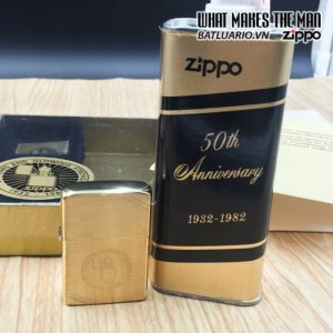 zippo 1932-1982 50th anniversary employee 6