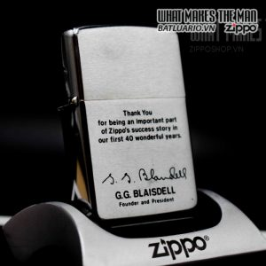 zippo 1972 kỉ niệm 40 năm thành lập zippo 2