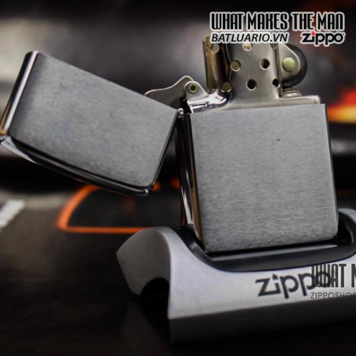 zippo 1980 trơn 6