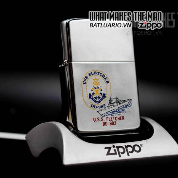 zippo 1982 uss fletcher dd 992 1