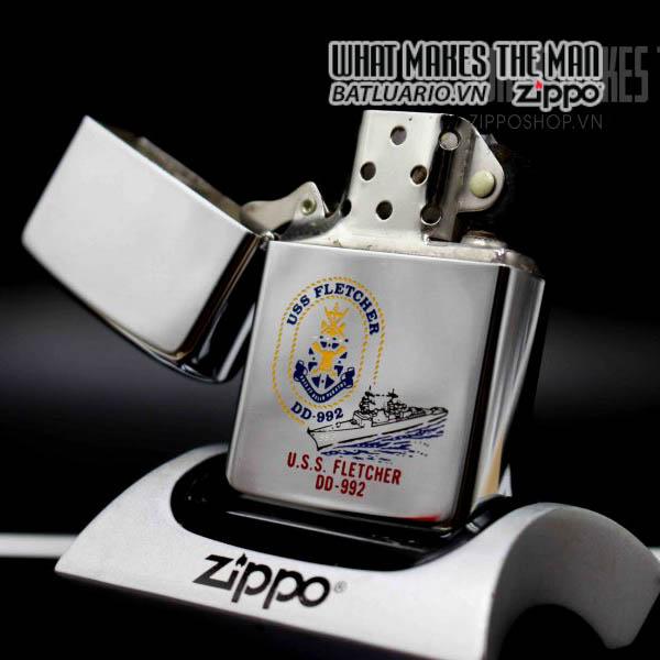 zippo 1982 uss fletcher dd 992 10
