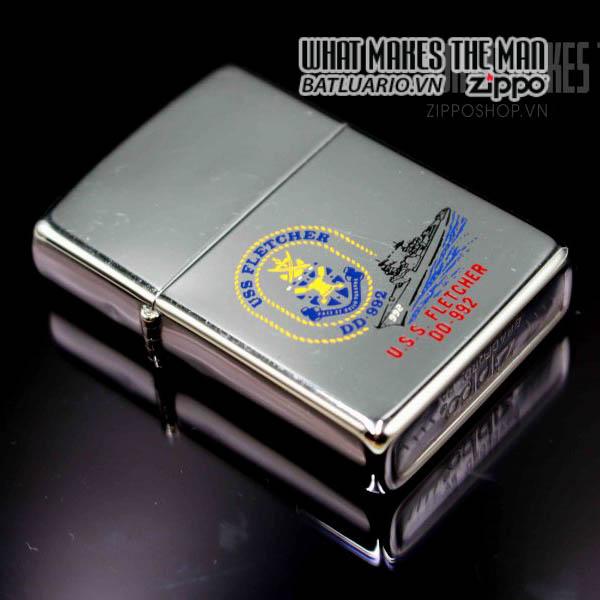 zippo 1982 uss fletcher dd 992 7