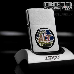 zippo 1984 rockwell missle systems division alt