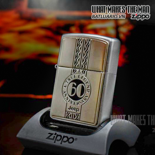 ZIPPO 2001 – 60TH ANNIVERSARY JEEP 3