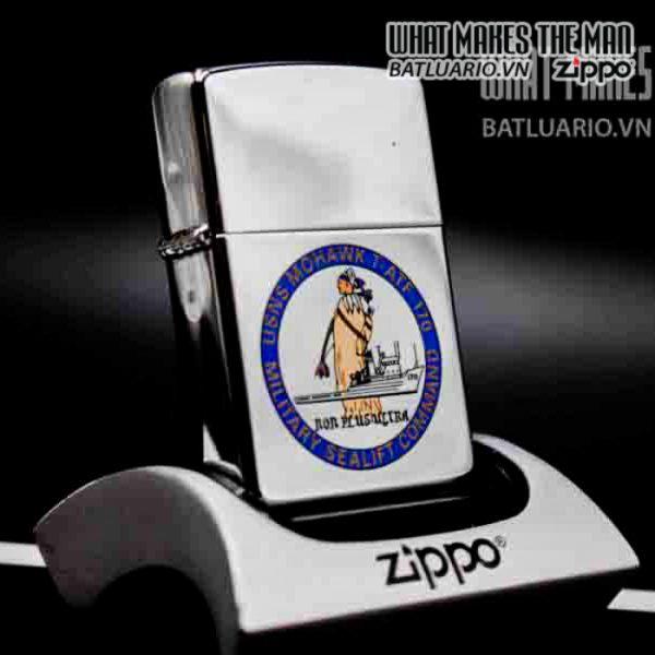 zippo 2001 usns mohawk t atf 170 4