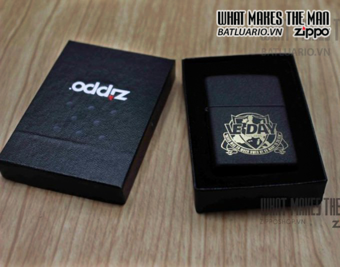 ZIPPO 2005 – VE DAY – LIMITED EDITION 0268/1000