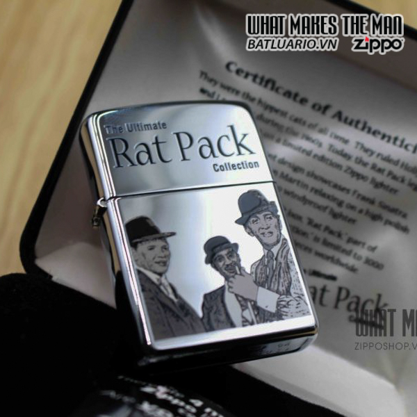 ZIPPO 2006 – THE UNTIMALE RAT PACK COLLECTION – LIMITED 1050 / 3000 6