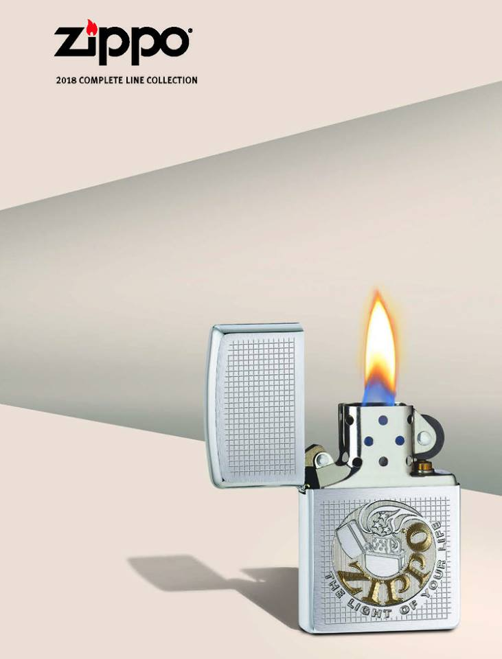 ZIPPO 2018 COMPLETE LINE COLLECTION 1