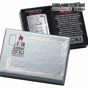 Zippo 28412 – Zippo 500 Million Brushed Chrome 7