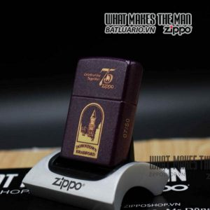 zippo 75th downtown bradford limited 0750 1
