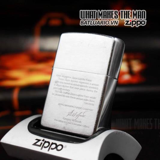 zippo bức thư 2001 1