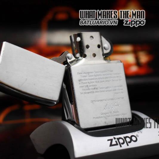 zippo bức thư 2001 2