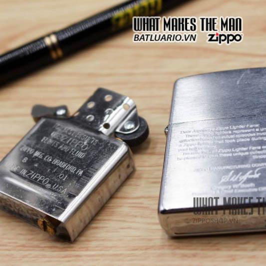 zippo bức thư 2001 7
