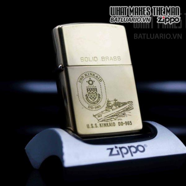 zippo chu niên 1932-1992 uss kinkaid dd 965 1
