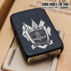 zippo d day 60th anniversary commemorative lighter sands of normandy 2 9