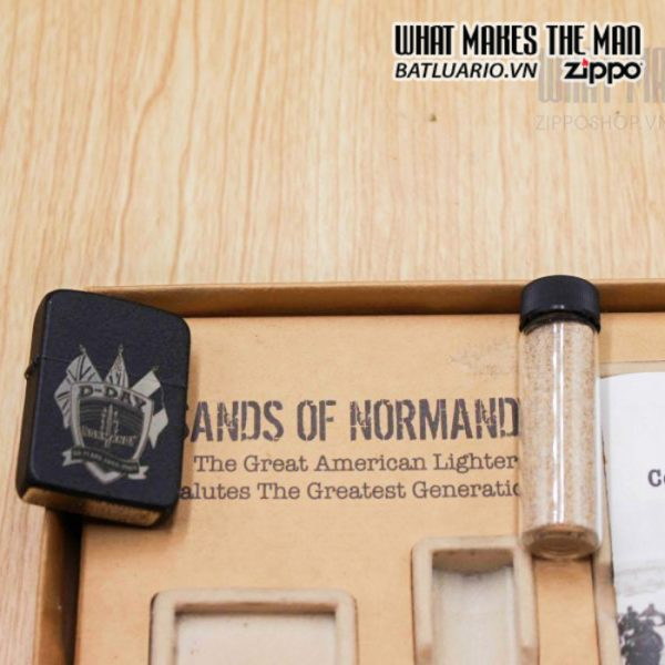 zippo d day 60th anniversary commemorative lighter sands of normandy 2 6