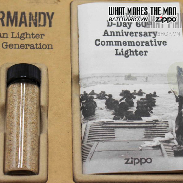 zippo d day 60th anniversary commemorative lighter sands of normandy 2 1