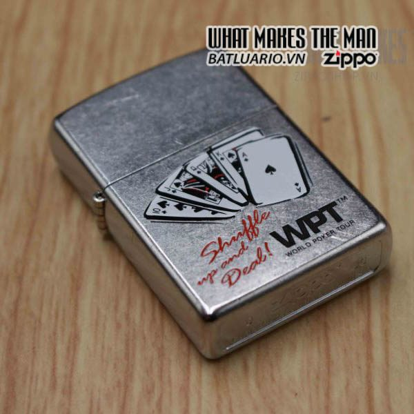 zippo gift 2006 playing card 7