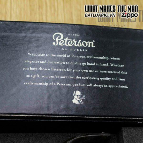 zippo gift peterson sherlock holmes gồm 1 zippo pipe 1 tẩu thuốc peterson 1 hộp thuốc đi kèm 8