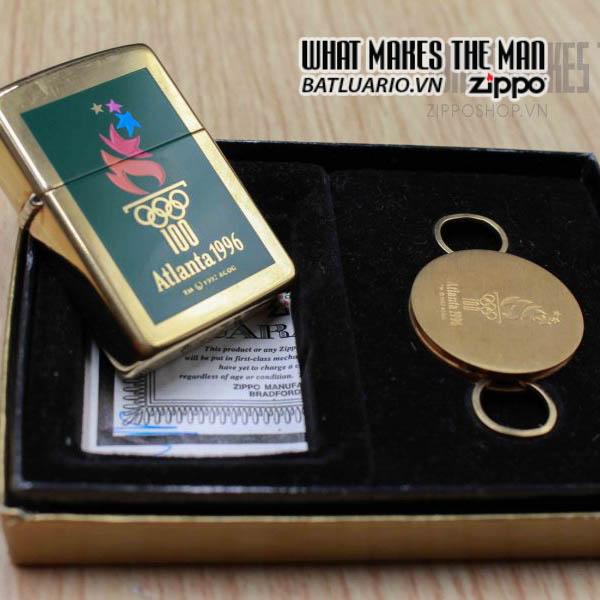 zippo gift set 1995 atlanta 1996 1