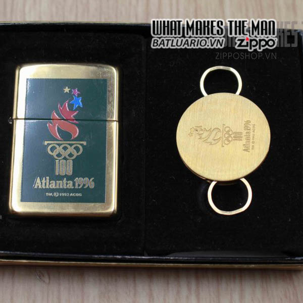 zippo gift set 1995 atlanta 1996 4