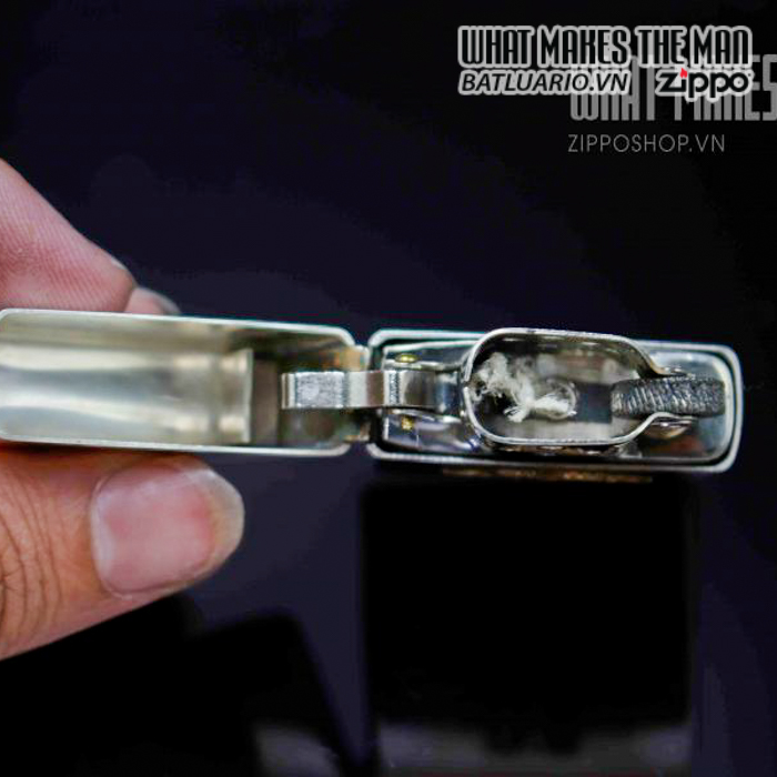zippo hiếm zippo sterling bạc khối 1940s 2 8