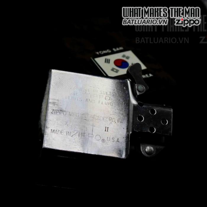 zippo la mã 1987 camo yong san south korea 1