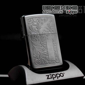 zippo la mã 1991 venetian hoa văn ý